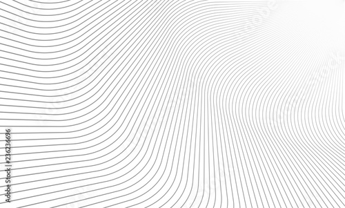 Vector Illustration of the pattern of gray lines on white background. EPS10.