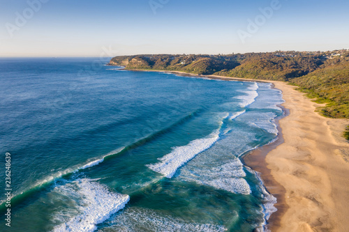 Foto op Aluminium Oceanië Dudley Beach - Newcastle Australia. Located a few kilometres from the city centre Dudley beach is surrounded by bushland