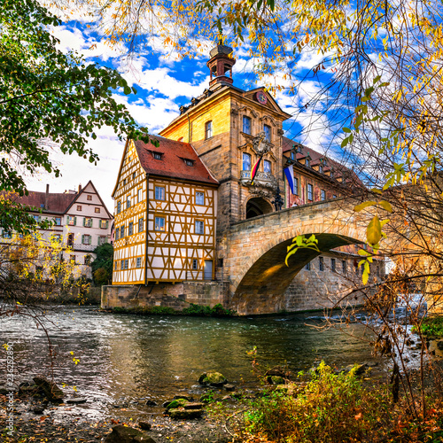 Best of Germany - beautiful town Bamberg in Bavaria