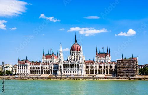 Fotobehang Boedapest Hungarian parliament in Budapest