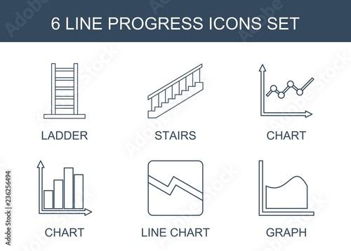 Fotografia progress icons