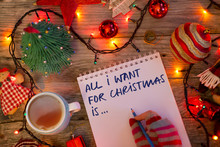 """""""All I Want For Christmas Is..."""