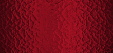 Long Banner Red Tone Frosted G...