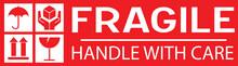 Autocollant Fragile Pour L'emballage