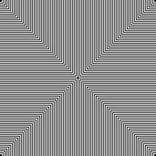 Black And White Hypnotic Illus...
