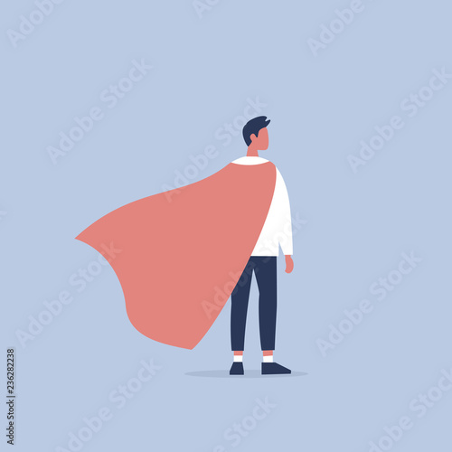 Fotomural Superhero conceptual illustration
