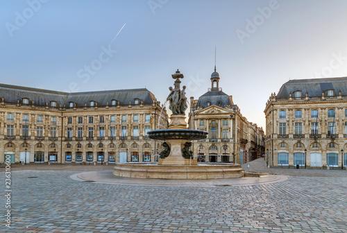 Papiers peints Con. ancienne Place de la Bourse, Bordeaux, France