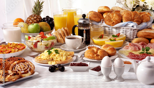 Stampa su Tela BREAKFAST TABLE