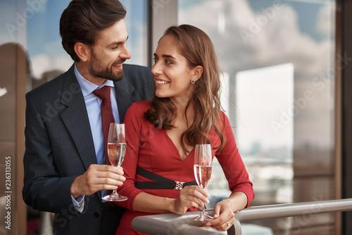 Fotografie, Tablou Concept of happy romantic date