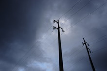 Pylons Of The Current In The S...