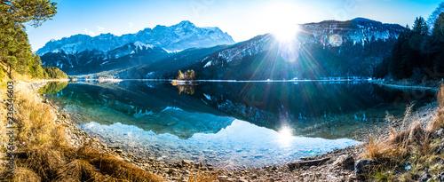 Foto op Canvas Herfst eibsee lake in germany
