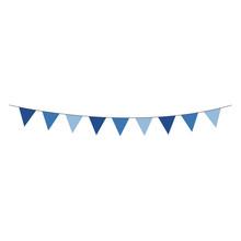 Blue Bunting Banner - Shades O...