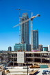 New construction of high-rise buildings in Burnaby city