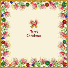 Pohutukawa Christmas Card