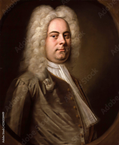 Obraz Portrait of Georg Friedrich Handel - fototapety do salonu