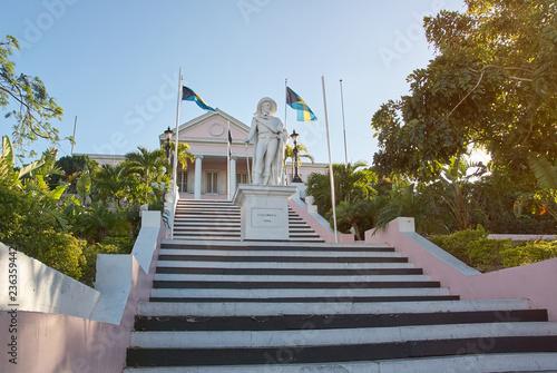 Fotobehang Historisch mon. Tourist historical place in Nassau Bahamas