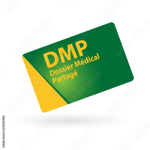 DMP : Dossier Médical Partagé Canvas Print