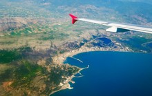 View From The Plane, Adriatic ...