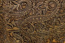 Texture Of Golden Brown Genuin...