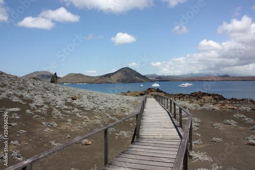 Fotobehang Zuid-Amerika land Galapagos Islands View