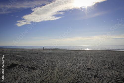 Fotografía  Scenic coastline view of Curonian Spit near Klaipeda, Lithuania