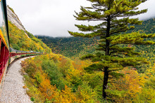 Autumn In Crawford Notch, New Hampshire