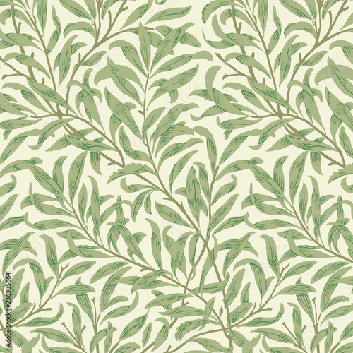 Willow Bough by William Morris (1834-1896). Original from the MET Museum. Digitally enhanced by rawpixel. Wall mural