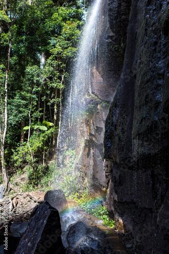 Fotografia, Obraz  Springbrook Narional Park Rainbow Waterfall