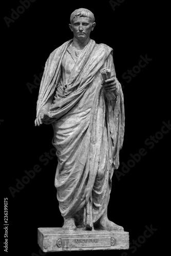 Caesar Octavianus Augustus roman emperor adopted son of Julius Caesar Fototapeta
