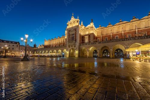 Fototapety, obrazy: Krakow Cloth Hall by Night