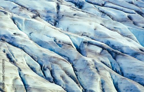 Poster Glaciers Skeiðarárjökull, Gletscherzunge des Vatnajökull, Vatnajökull-Nationalpark, ehemaliger Skaftafell-Nationalpark, Austurland, Island / Iceland, Europa