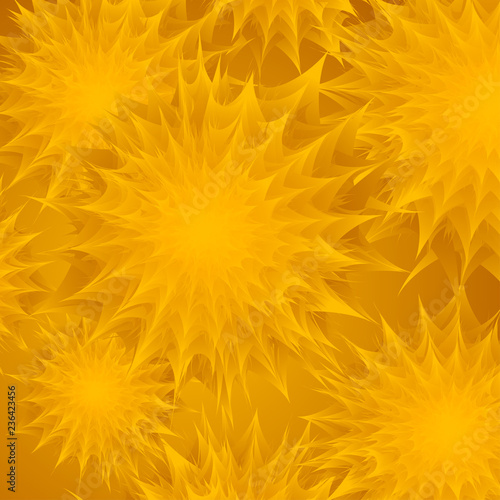 Photo Stands Slices of fruit Abstract background with floral texture in orange colors for perfume or cosmetic or for congratulation or invitation of holiday or for package