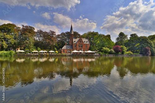 Keuken foto achterwand Kanaal Bruges, Belgium