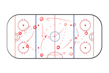 Hockey Sport Field Plan With G...
