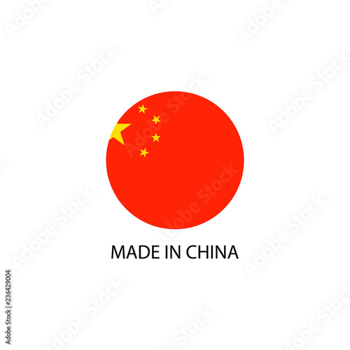 Foto  Made in China sign