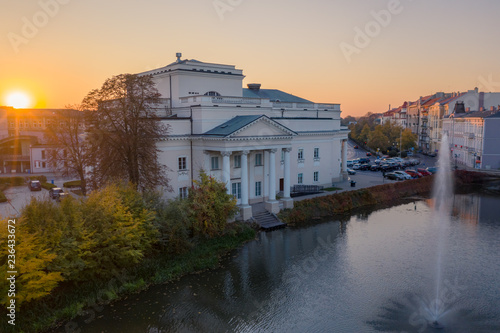 Photo sur Aluminium Opera, Theatre Theater of Wojciech Bogusławski in Kalisz, Poland.