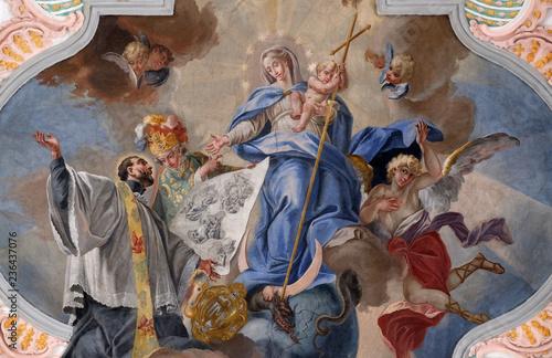 Obraz na plátně St