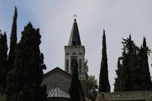 Christian Church In Bodbe Town In Georgia