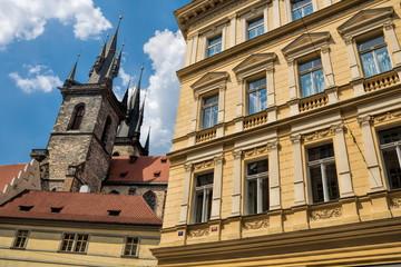 Fototapeta Prag, Altstadt mit Teynkirche