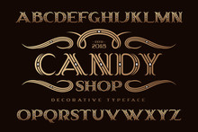 Decorative Classic Typeface Na...