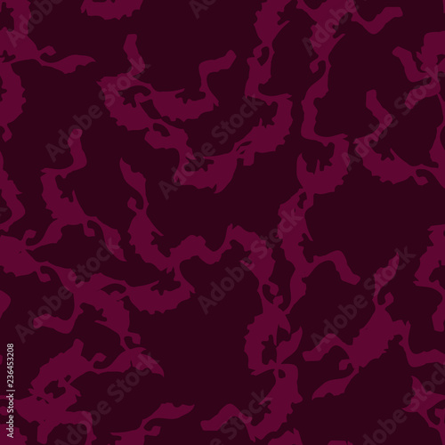 19e68a4195a2 Urban UFO camouflage of various shades of red and dark pink colors ...