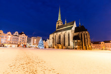 St. Bartholomew Cathedral In Pilsen