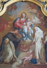 Altar Of The Holy Rosary In Th...