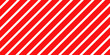 Christmas Seamless Pattern Red and White Striped Background