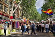 canvas print picture - Madrid, El Rastro Market