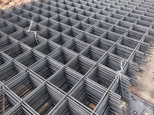 BRC welded wire mesh or BRC fabric used as part of the main