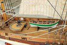 Deck Of Sailing Ship