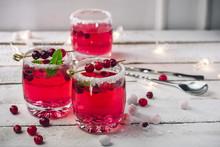 Cranberry Drink  Sangria.