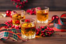 Whiskey, Brandy Or Liquor Shot...