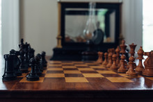 Chessboard With Pawns